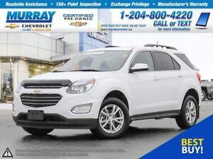 2017 Chevrolet Equinox LT w/1LT *Rear View Camera, All Wheel Dri