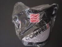 Compress sport running visor ultralight v2 black