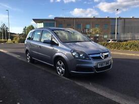 Vauxhall Zafira 1.9 diesel 7 seats