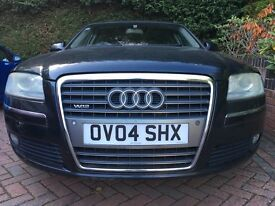 Audi A8L W12 Flagship Model with Bentley Engine. Luxury car at a bargain price.