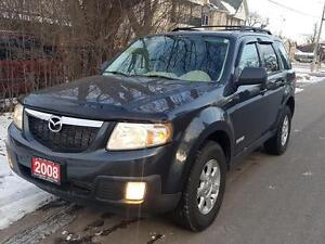 2008 Mazda Tribute 4x4  Leather ,P.SUNROOF, LOW KMMS CERTEFIED