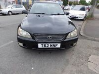 LEXUS IS200 AUTO! NEW TIMING BELT FITTED! £825 O.N.O!