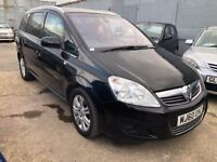 Vauxhall Zafira 1.7 CDTi ecoFLEX 16v Elite 5dr£4,890 p/x welcome FREE WARRANTY. NEW MOT!
