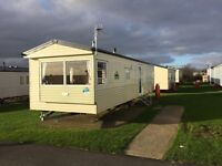 2011 static caravan for sale - Scarborough all site fees paid.
