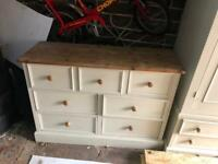 Chest of draws and wardrobe
