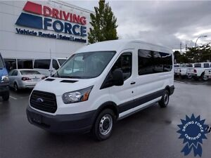 2015 Ford Transit Wagon XL 15 Passenger, Keyless Entry, 42838 KM