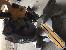 DeWalt chop saw for sale.