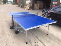 Blue Cornilleau Sport 100S Crossover Outdoor Table Tennis Table (Good Condition - Assembled)