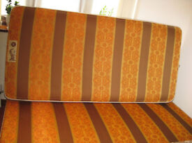 single divan bed. as new.