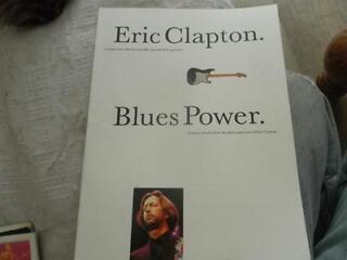 Eric clapton - blues power guitar book.