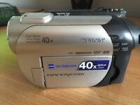 "SONY HANDYCAM DVD CAMCORDER WITH 2.5"" LCD SCREEN - LIKE NEW"