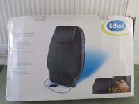 Armchair back massager by Scholl.
