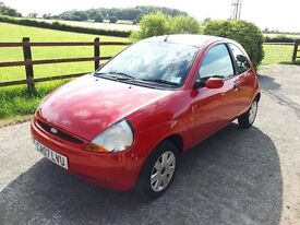 Ford KA Style 1.2 2007, 75000 miles MOT June 2018, 3dr Petrol Manual FULL SERVICE HISTORY