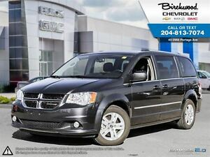 2016 Dodge Grand Caravan Crew REAR HEAT + AIR + HEATED SEATS
