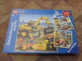 Lego City jigsaw puzzles