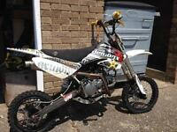 Pit bike demon x 160cc race
