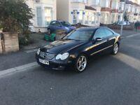 2003 Mercedes CLK270 swap sell