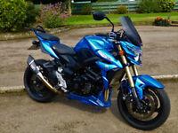 2016 Suzuki GSR750AL6 Moto GP ABS, Low Miles, VGC... Not MT09, Street Triple, FZ8