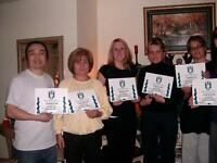 *** INTENSIVE  HOLISTIC  ESTHETIC  COURSES with Certifications**