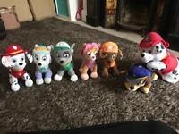 Paw Patrol teddy bundle