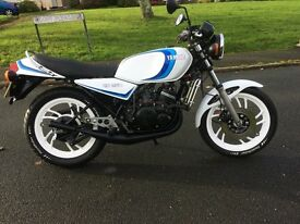 1983 RD250LC. 12 MONTHS MOT. MATCHING NUMBERS.