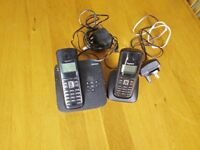 Pair of Siemens Gigaset phones