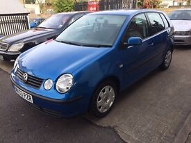 Volkswagen Polo 1.2 SE 5dr p/x to clear nice clean car