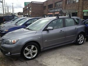 2004 Mazda MAZDA3 SPORT AUTO, LOADED, ALLOYS!!! HATCHBACK!!!