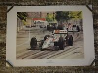 Nigel Mansell's 1st Indycar Win Print + Rare Marlboro F1 Sticker for sale  Winnersh, Berkshire