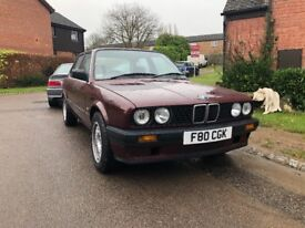 BMW E30 318i 1 LADY OWNER 28YRS FULL SERVICE