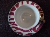 House of Fraser Espresso Cup & Saucer