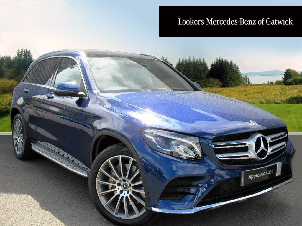 mercedes benz glc class glc 250 d 4matic amg line premium plus blue 2017 04 25 in crawley. Black Bedroom Furniture Sets. Home Design Ideas