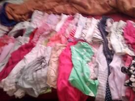 Bundle girls clothes 12.18 months