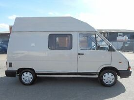 NO VAT!! renault trafic 2 berth mk1 holdworth camper van with only 45k !!! stunning example...