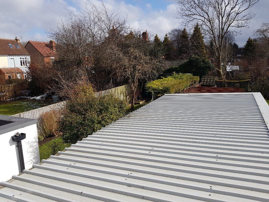 Corrugated Metal Roof Panels From Garage 20m2 In Hucclecote