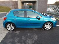 2007 Peugeot 207 1.6 GT HDI,only 89000,fsh