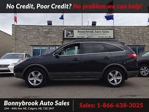 2008 Hyundai Veracruz Limited 7 passeger with p/ sunroof