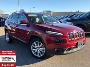 2017 Jeep Cherokee LIMITED**LEATHER HEATED SEATS**NAVIGATION**