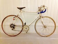 Puch Classic 10 speed Flange hubs serviced