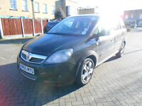VAUXHALL ZAFIRA 1.8 WITH PCO 7 SEATER MPV LOW MILEAGE LONG MOT like Galaxy Sharan Prius Insight Taxi