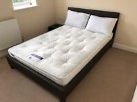 NEW Double Bed and double Mattress - Urgent sell