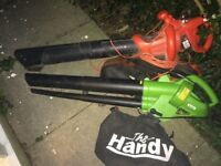 2x faulty leaf blowers