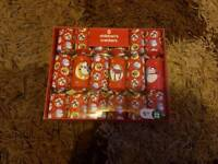 Children's Christmas crackers unopened box