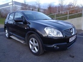 2007 NISSAN QASHQAI TEKNA AUTOMATIC DIESEL 2.0 ,PANORAMIC ROOF, REVERSE CAMERA,FSH,3 MONTHS WARRANTY