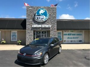 2015 Volkswagen GTI WOW CLEAN GTIBAHN! $151.00 BI-WEEKLY+TAX!