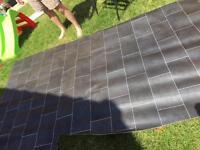 Tile lino flooring