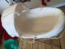 John Lewis Moses basket - great condition