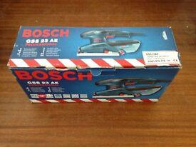 BOSCH Professional GSS 23AE 190W 1/3 Sheet Orbital Detail Palm Sander, 240v