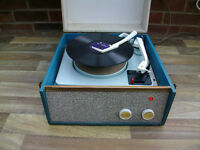 VINTAGE VALVE AUTOCHANGER RECORD PLAYER IN WORKING ORDER, NOW REDUCED TO £80 OVNO FOR THE WEEKEND