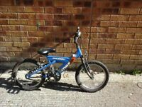 "Childs 15"" wheeled Raleigh bike"